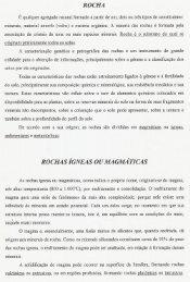 ROCHA ROCHAS iGNEAS OU MAGMATICAS