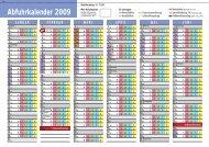Abfuhrkalender 2009