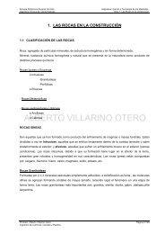 Tema 1: Las Rocas en la Construcción - OCW Usal
