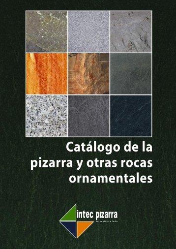 Catálogo de la pizarra y otras rocas ornamentales - Fundación ...