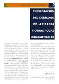 Catálogo de la pizarra y otras rocas ornamentales - Fundación ... - Page 5