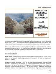 rocas sedimentarias - Galeón