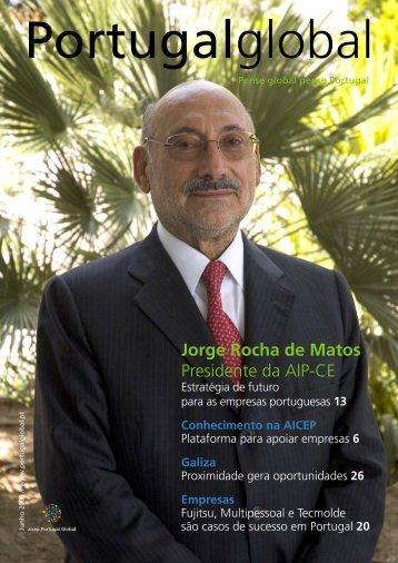 Jorge Rocha de Matos Presidente da AIP-CE - aicep Portugal Global
