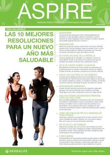 Descargar encarte Aspire - Herbalife Today Magazine