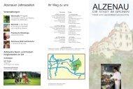 Hotel- und Gaststättenverzeichnis - Stadt Alzenau