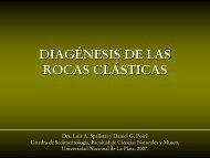 Diagénesis de Rocas Silicoclásticas - Facultad de Ciencias ...