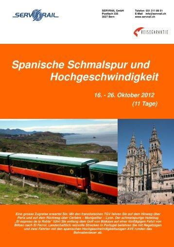 Spanische Schmalspur und Hochgeschwindigkeit - SERVRail