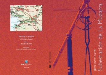 Díptico subestación de la Mudarra - Red Eléctrica de España