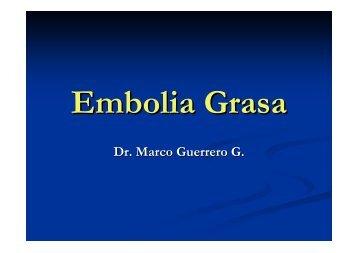 Embolía Grasa