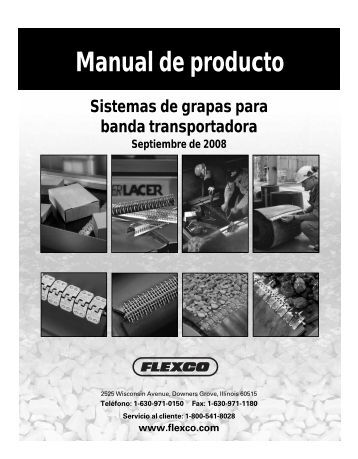 Manual de producto - Flexco