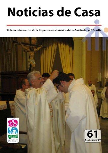 Boletín informativo de la Inspectoría salesiana - Salesianos-sevilla ...