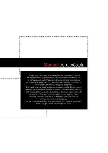 Manual de la próstata - Virbac