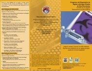 Programa de Disposición de Agujas y Jeringas Usadas de Uso ...