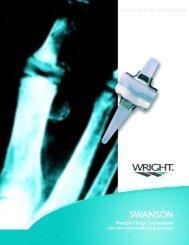 SWANSON Flexible Hinge Toe Implant
