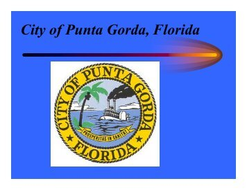 Sewall construction and maintenance - City of Punta Gorda