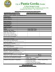Urban Park Applicantion & Policy - City of Punta Gorda - Page 4