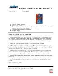 Removedor de pintura de olor suave AIRCRAFT® - WM Barr