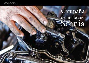 Folleto Campana de Fin de Ano - Scania