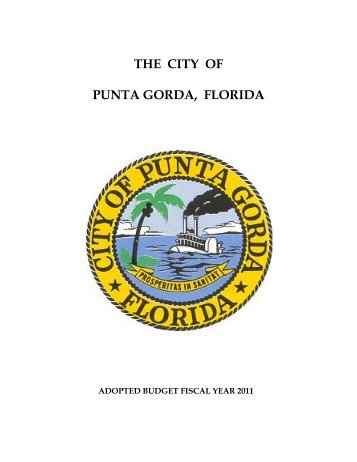 THE CITY OF PUNTA GORDA, FLORIDA
