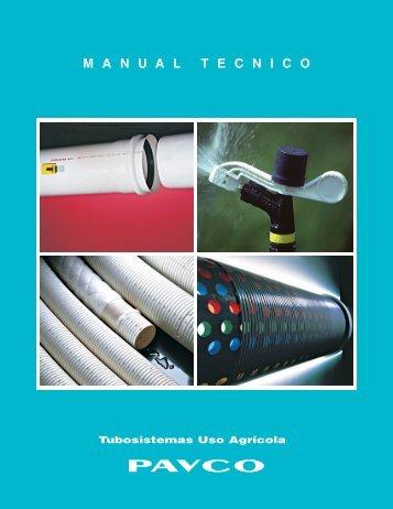 Manual Técnico Tubería para Riego Pavco