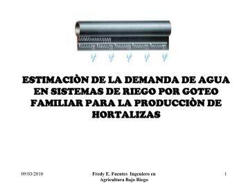 Importancia sistema riego por goteo Demanda.pdf - centa