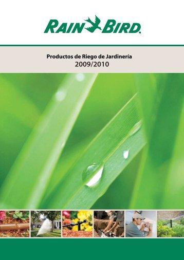 Productos de Riego para Jardinería 2009/2010 - Interempresas