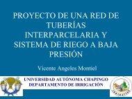 proyecto de una red de tuberías interparcelaria y sistema de riego a ...