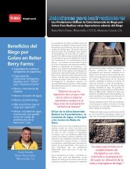 Beneficios del Riego por Goteo en Reiter Berry Farms: - Toro Media