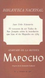 BIBLIOTECA NACIONAL Juan Uribe Echevarria - Memoria Chilena