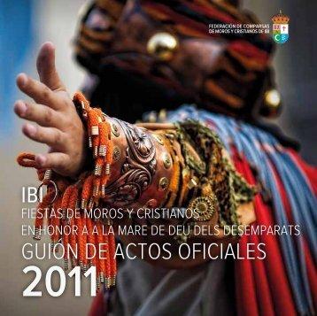 GUIÓN DE ACTOS OFICIALES - Ayuntamiento de Ibi