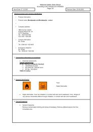 Safety data sheet fire packs, -afire paste colour - TBF-PyroTec