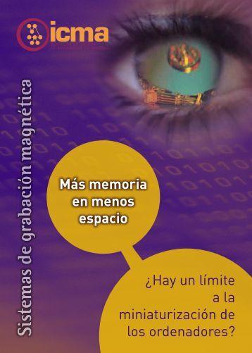 Sistemas de grabación magnética - Universidad de Zaragoza