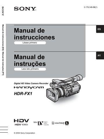 Manual de instrucciones Manual de instruções - Hangar