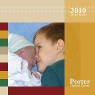 Annual Report 2010 - Porter Medical Center