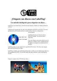¡Etiquete sus discos con LabelTag! Un método ... - DVD Barato