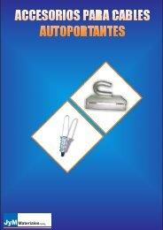 accesorios para cables autoportantes - JyM Materiales srl