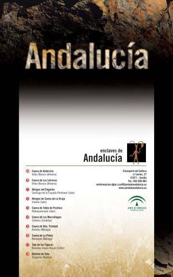 Andalucía - caminos de arte rupestre prehistórico