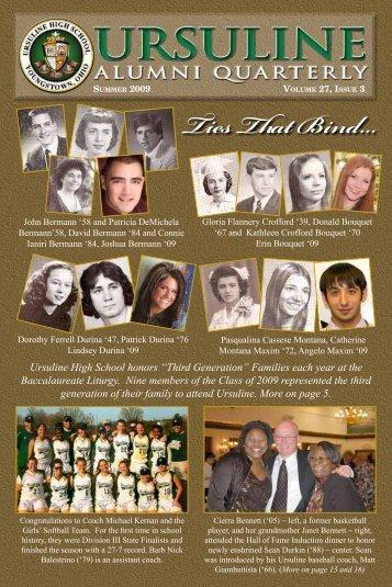 Alumni Quarterly - Ursuline High School