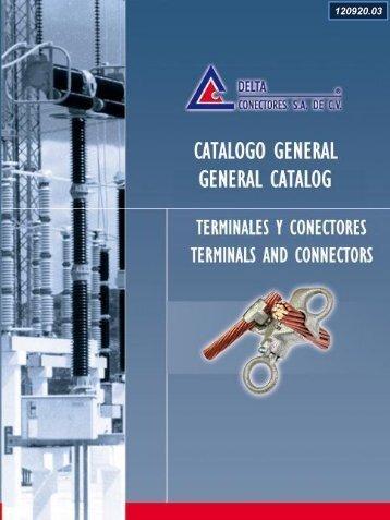 CATALOGO DE PRODUCTOS - delta conectores