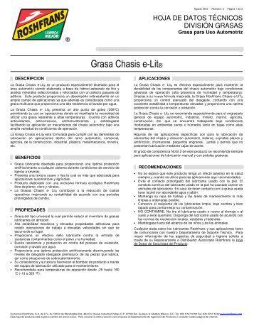 Grasa Chasis e-Lit® - Roshfrans