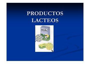 PRODUCTOS LACTEOS - DePa