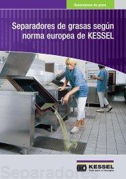 Separadores de grasa - KESSEL