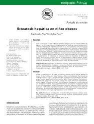 Esteatosis hepática en niños obesos - edigraphic.com