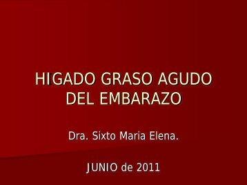 HIGADO GRASO AGUDO DEL EMBARAZO - Asociación de ...