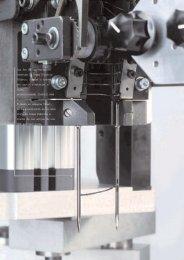 Las dos agujas variables insertan la Grapa Elástica (Plastic Staple ...