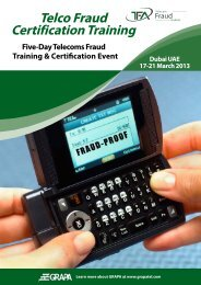 Telco Fraud Certification Training - Telecom Fraud Academy