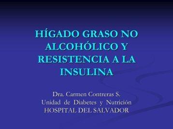 HIGADO GRASO NO ALCOHOLICO Y RESISTENCIA A LA INSULINA