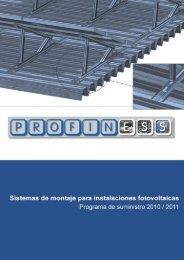 Programa de suministro-Solar