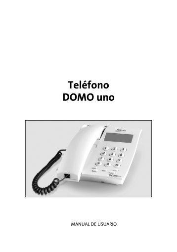 Manual Domo Uno v1.0 - Movistar
