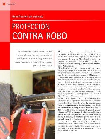 Identificación del vehículo - CESVI Argentina
